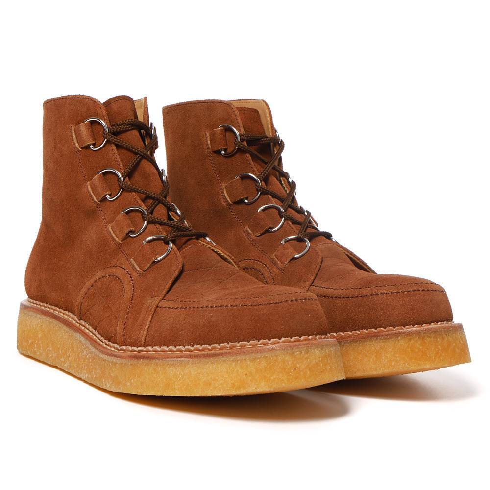 Human Made - Rubber Sole Hi Brown.1
