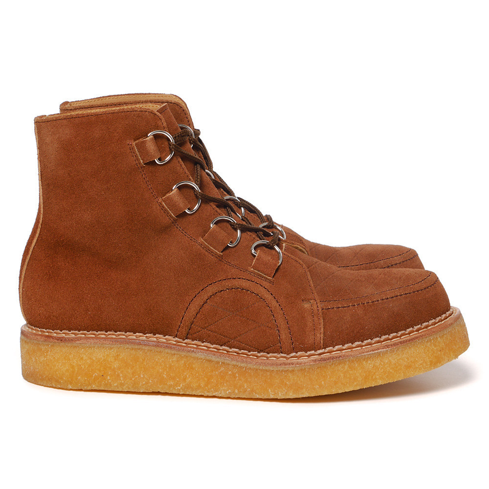 Human Made - Rubber Sole Hi Brown.2