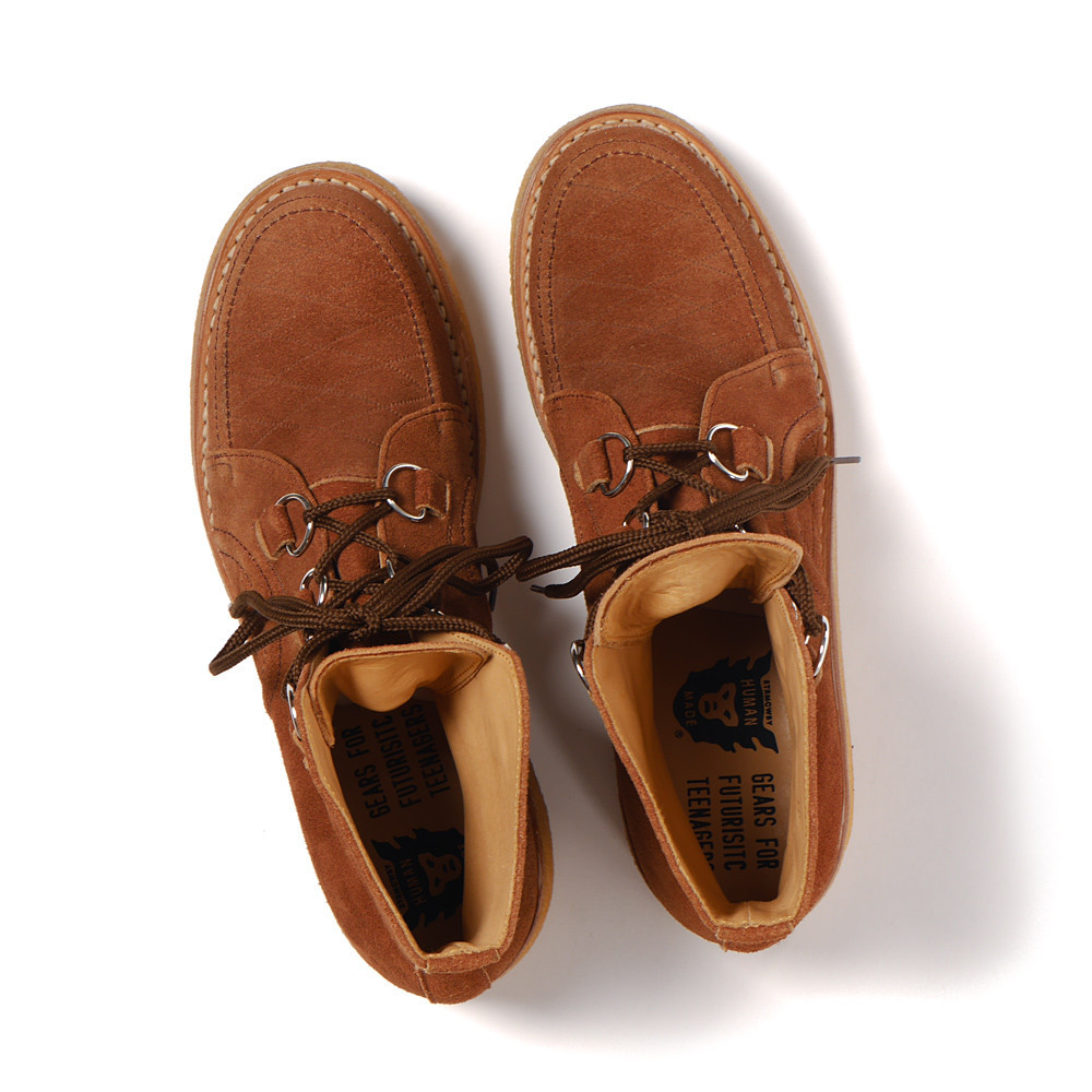 Human Made - Rubber Sole Hi Brown.3