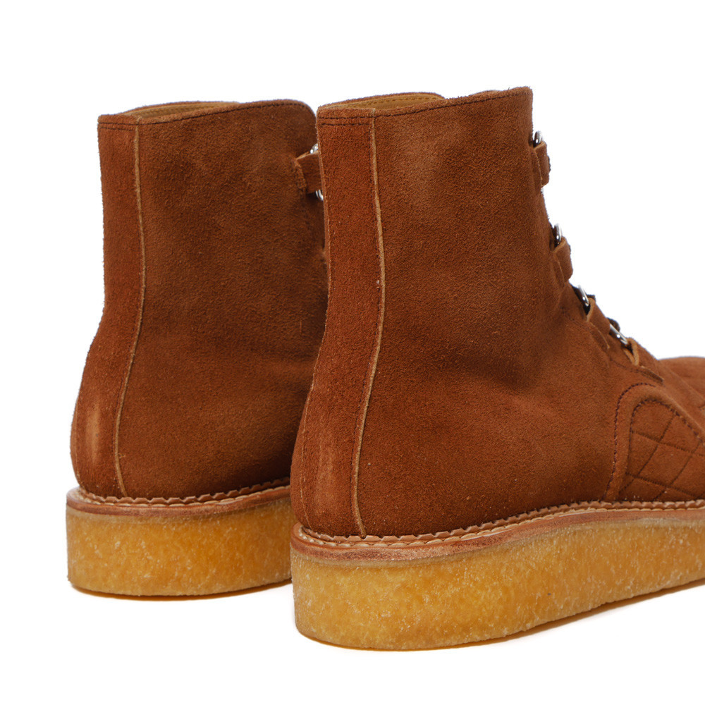 Human Made - Rubber Sole Hi Brown.4