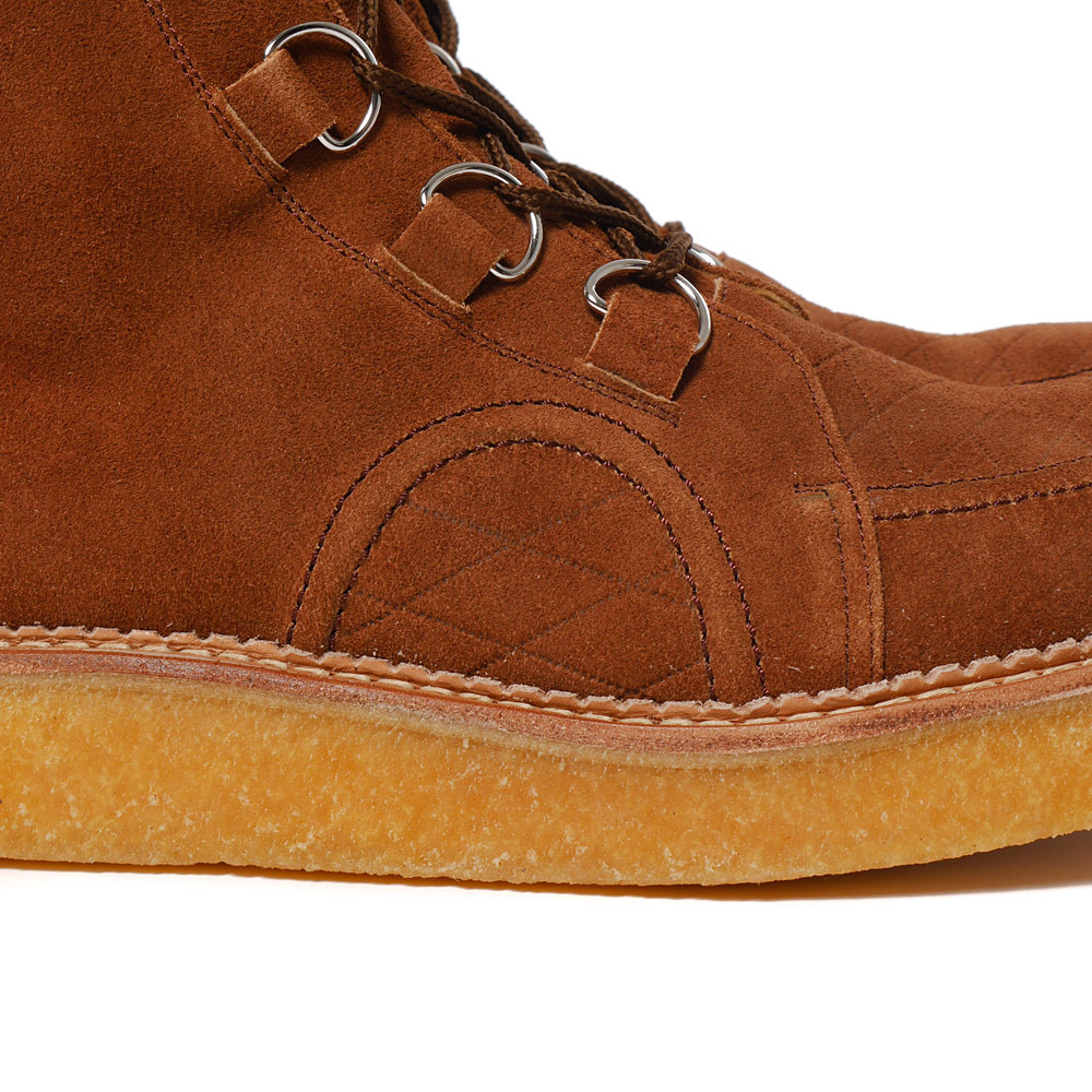 Human Made - Rubber Sole Hi Brown.5