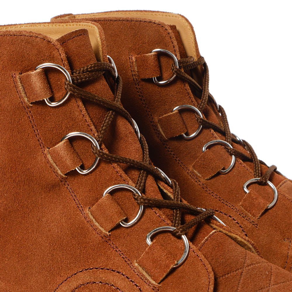 Human Made - Rubber Sole Hi Brown.6