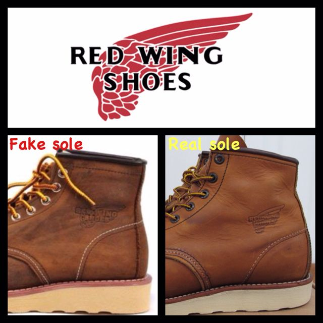 Red Wing Shoes Fake