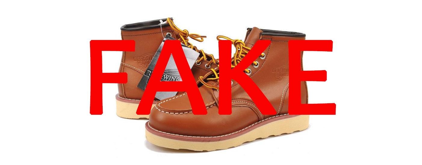 Осторожно подделки! Или Red Wing Shoes Fake.