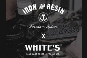 White's Boots x Iron & Resin Rambler Boot.